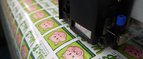 Aufkleber, Digitaldruckaufkleber