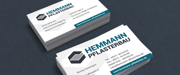 Visitenkarten, Gestaltung, Design